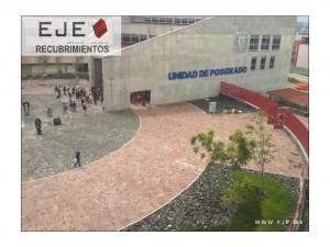 Obra Unidad Mixta de posgrado, UNAM, Ciudad Universitaria Cd. de México