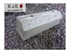 Topes de concreto para estacionamiento